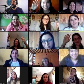 Estudiantes de IT UCSC reflexionan sobre bienestar emocional en actividad de Programa Beca de Nivelación Académica
