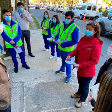 Intendente de Ñuble valoró trabajo de trazabilidad en Sede Chillán