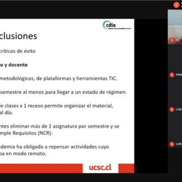 UCSC participa en encuentro Latinoamericano sobre desarrollo de la educación en Ingeniería