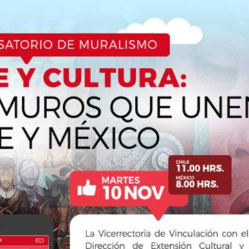 Conversatorio apunta a destacar el arte del muralismo en México y Chile
