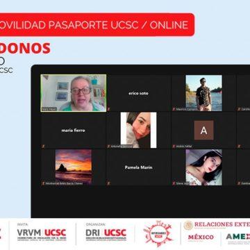 Feria Pasaporte UCSC destacó a México como invitado 2020