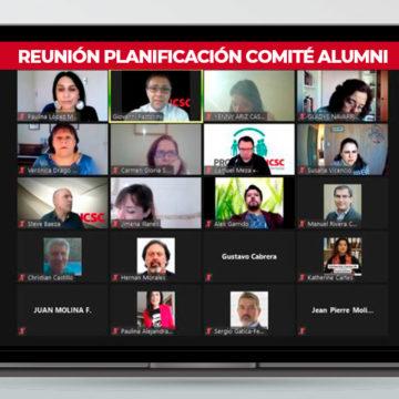 Comité Alumni proyectó trabajo del año en encuentro de embajadores