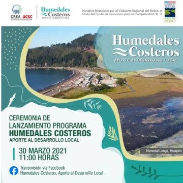 Con la presencia de autoridades regionales y universitarias se realizará lanzamiento de proyecto FIC de Humedales Costeros