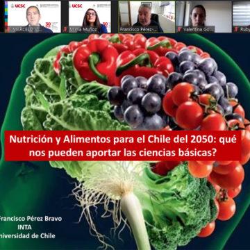 Nutrición y alimentos para el 2050 centró clase inaugural de Magíster en Ciencias Biomédicas