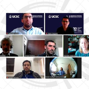 Día de la Ingeniería fue conmemorado con webinar sobre medioambiente, energía y recursos hídricos