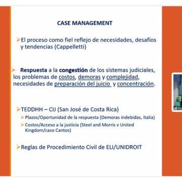 Case Management: académico dictó conferencia sobre esta tendencia en gestión judicial