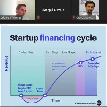 Científico emprendedor compartió su experiencia en charla de la Facultad de Ciencias UCSC