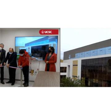 UCSC inaugura nuevos espacios de edificio Santa Teresa de Jesús de Ávila