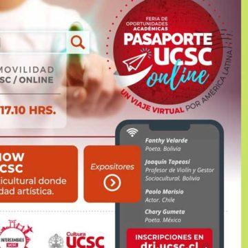 Feria de Movilidad UCSC incluirá jornadas culturales con artistas de diferentes países americanos