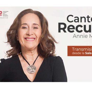 """Annie Murath protagonizará concierto """"Cantos del recuerdo"""" en marco de 30º Aniversario UCSC"""