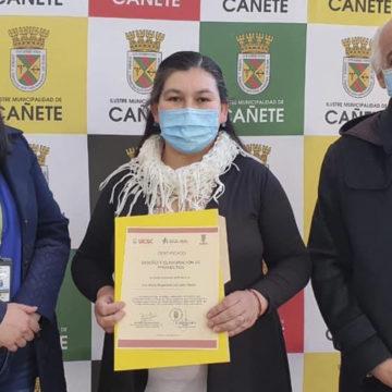 Núcleo Científico Tecnológico: emprendedores de Cañete reciben certificados