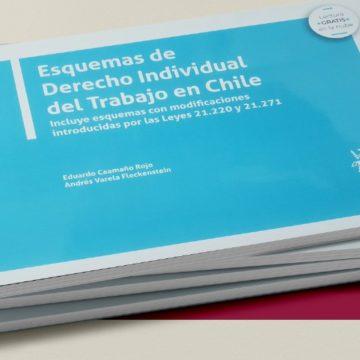 Libro de esquemas sobre Derecho Individual del Trabajo facilita conocimiento de la comunidad en esta materia
