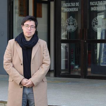 Académico de Ingeniería obtiene Beca Santander Movilidad Internacional Profesores