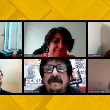 Actividad literaria de Educación propició encuentro con poeta Mauricio Redolés